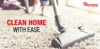 Keep Dirt And Dust at Bay With Ramtons Vacuum Cleaners