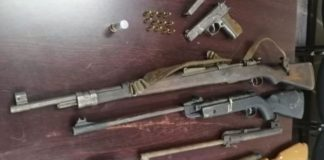 Eastern Cape operation uncovers illegal firearms. Photo: SAPS